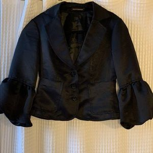 Express Jackets & Coats - Express black formal blazer with balloon sleeves